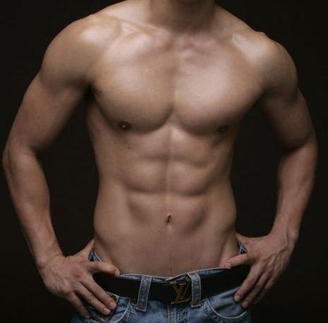 Ideal man body