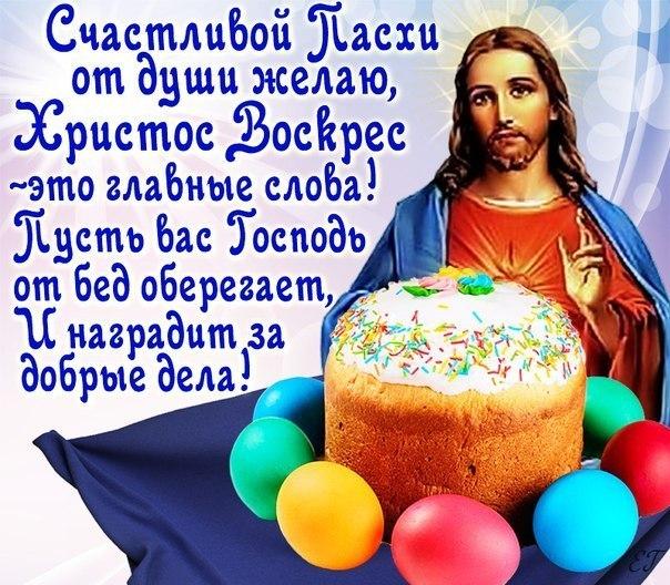 Поздравление с пасхой христовой на телефон